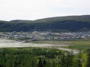 Le village deKangiqsualujjuaq